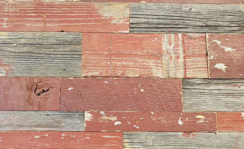 Wall Cladding 2 Red Siding
