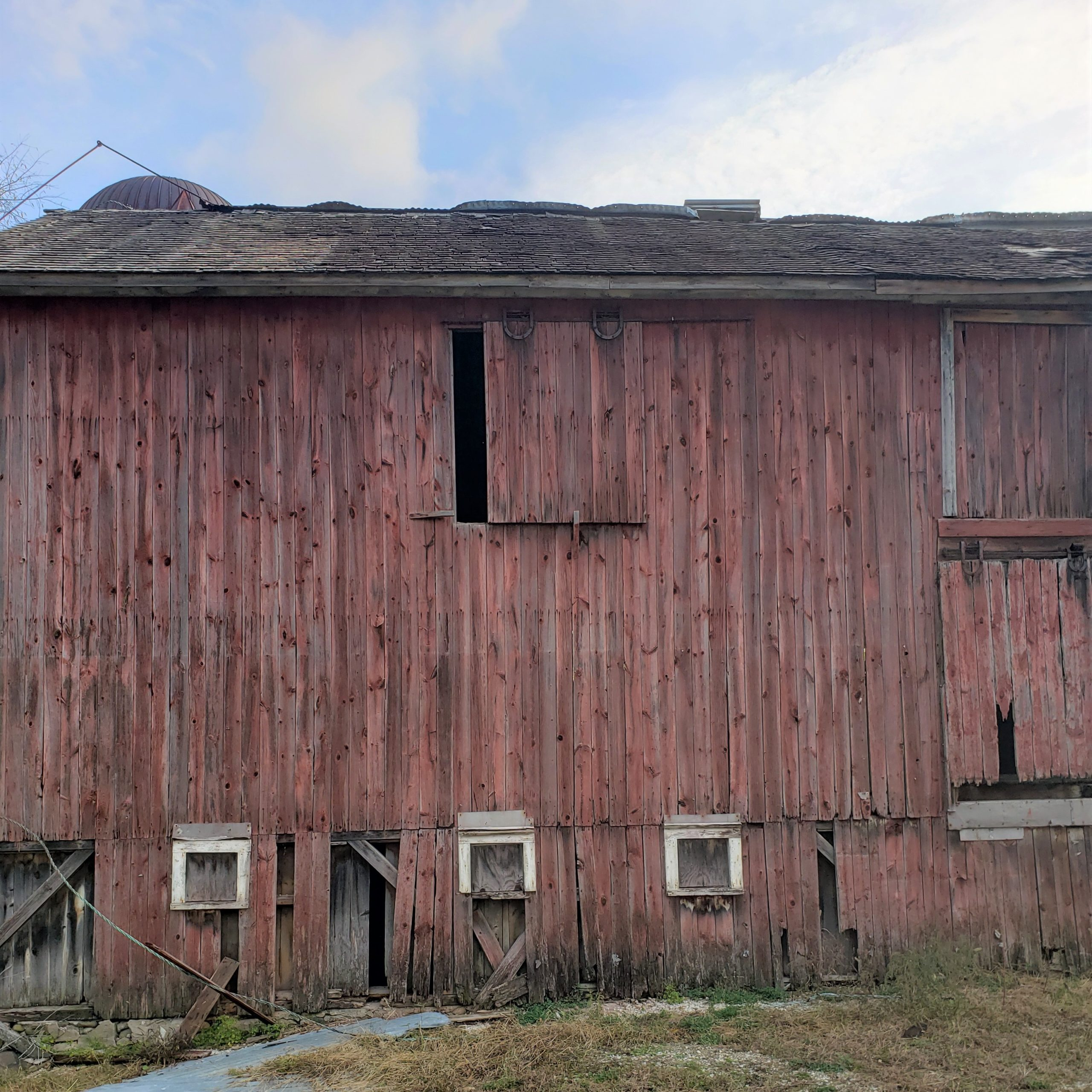 Faded Red Barn 1 1